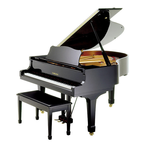 yamaha c7 grand piano used nipponpiano. Black Bedroom Furniture Sets. Home Design Ideas